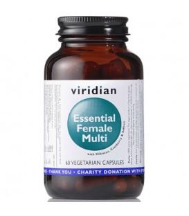 Essential Female Multi (60 kapsułek) suplement diety Viridian