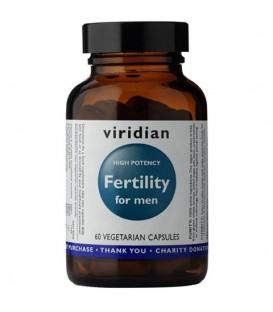Fertility for man Płodność dla mężczyzn (60 kapsułek) suplement diety Viridian