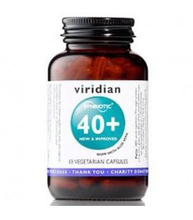 Flora bakteryjna Synbiotyk 40+ (60 kapsułek) suplement diety  Viridian