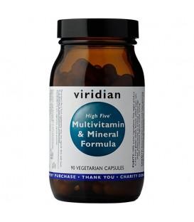 High Five Multivit & Mineral Formula (90 kapsułek) suplement diety Viridian