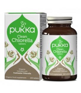 Clean Chlorella BIO (150 tabletek) suplement diety Pukka