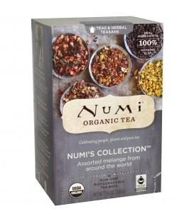Zestaw Herbat BIO Numi's Collection, 9 różnych smaków! 18 torebek, Numi Organic Tea