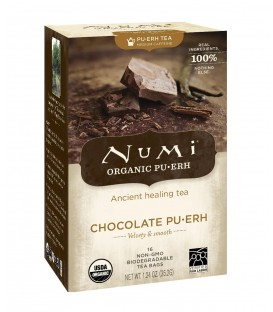 Herbata BIO Chocolate Pu-erh 16 torebek, Numi Tea Organic