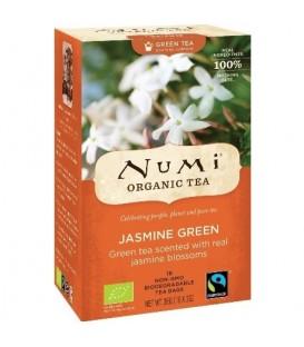 Jasmine Green Numi Tea organic, 18 teabags
