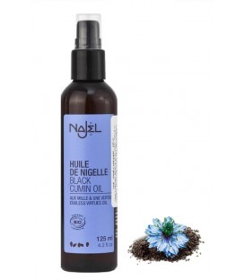 Olejek BIO Czarnuszka - Black Cumin Seed Oil (do ciała i włosów), 125ml, Ecocert Najel