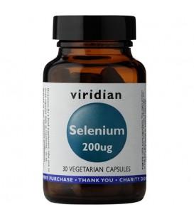 Selen 200ug (30 kapsułek) suplement diety Viridian