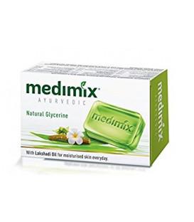 Mydełko Nawilżające z olejkiem Lakshadi Do Skóry Suchej 125 g Medimix