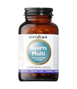 Sports Multi (60 kapsułek) suplement diety Viridian