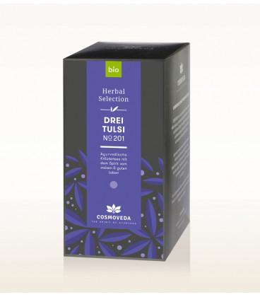 BIO Herbata Trzy rodzaje Tulsi 17 saszetek x 1,8g Cosmoveda