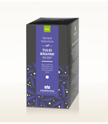 BIO Herbata Tulsi Brahmi 17 saszetek x 1,8g Cosmoveda