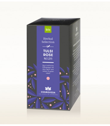 BIO Herbata Tulsi & Róża 17 saszetek x 1,8g Cosmoveda