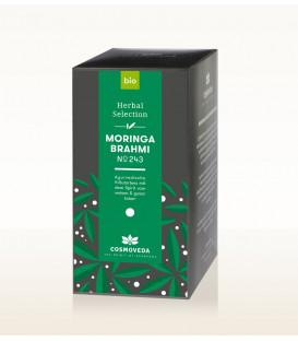 BIO Herbata Moringa & Brahmi 20 saszetek x 1,8g Cosmoveda