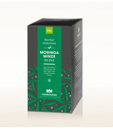 BIO Herbata Moringa & Mięta  17 saszetek x 1,8g Cosmoveda