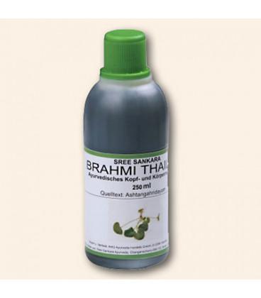 Olej do masażu głowy Brahmi Thailam, 250 ml Sree Sankara Ayurveda