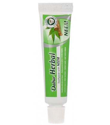 Mini pasta do zębów z Neem 20g Dabur