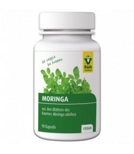 Moringa BIO, 90 kapsułek, suplement diety, Raab