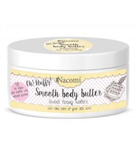Masło do ciała lekkie Miodowe Gofry 100 g Nacomi