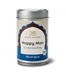 Mieszanka BIO przypraw orientalnych Happy Man, 50 g Classic Ayurveda