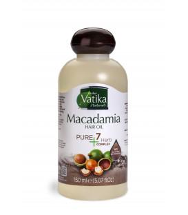 Oliwka do włosów Vatika Pure Pure 7 herbs - Makadamia 150ml Dabur WYPRZEDAŻ termin koniec maja 2019