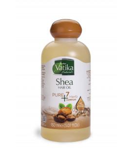 Oliwka do włosów Vatika Pure 7 herbs- Masło Shea 150ml Dabur WYPRZEDAŻ termin koniec maja 2019