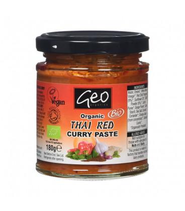 Pasta BIO Czerwone Curry Tajskie 180g Geo Organics