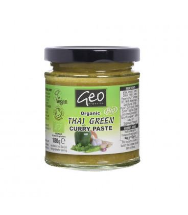 Pasta BIO Zielone Curry Tajskie 180g Geo Organics