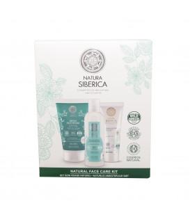 Zestaw dla kobiet do pielęgnacji twarzy Oczyszczenie & Nawilżanie NATURA SIBERICA