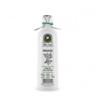 Szampon brzozowy do wszystkich rodzajów włosów 280 ml BABUSZKA AGAFIA