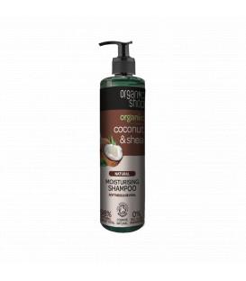 Szampon do włosów nawilżający KOKOS & SHEA 280 ml ORGANIC SHOP