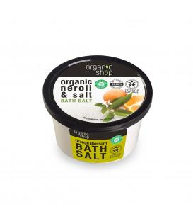 Sól do kąpieli Kwiat Pomarańczy 250 ml ORGANIC SHOP