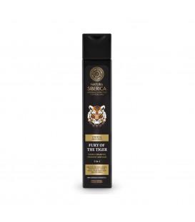 Szampon do włosów energetyzujący 2w1 Furia Tygrysa 250 ml