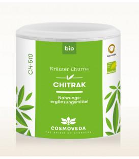 BIO Chitrak Churna - wzmacnia układ oddechowy i reguluje zaburzenia trawienia 100g Cosmoveda