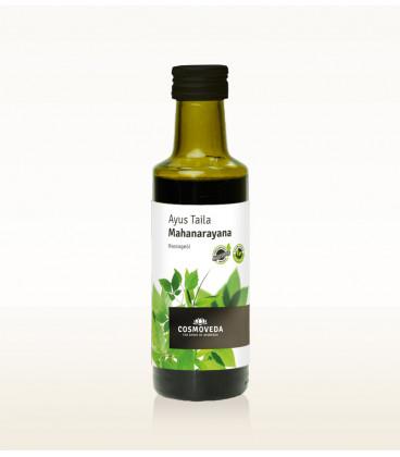 BIO Olejek Ayus Taila Mahanarayana - Przeciwstarzeniowy do picia i masażu ciała 100 ml Cosmoveda
