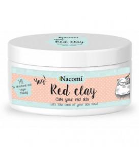 Glinka czerwona 100ml/129g Nacomi
