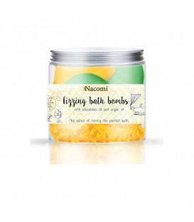 Półkule zestaw pomarańcza-zielona herbata (4 półkule  330 g Nacomi