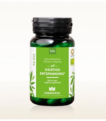 BIO Ayus Rasayana - Mental Relaxation 80 kapsułek Cosmoveda - suplement diety