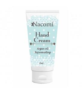 Krem do rąk - Odmładzający z olejem arganowym 85 ml Nacomi