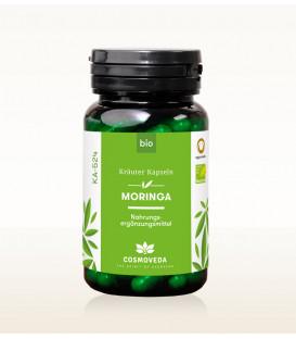 BIO Moringa 80 kapsułek, Cosmoveda Superfoods - suplement diety