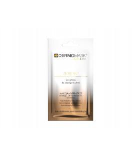 Dermomask Night Active ZŁOTE NICI maseczka naprawcza do twarzy tuba 30ml  L'biotica