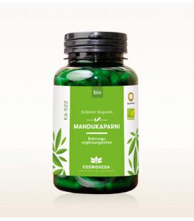 BIO Mandukaparni (Gotu Kola) Centella Asiatica, 80 kapsułek Cosmoveda - suplement diety