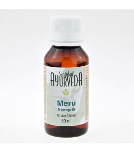Kojący olejek do masażu kręgosłupa Kundalini (Meru) Oil 50 ml Santulan