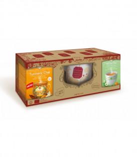 Zestaw Prezentowy: 2 BIO herbaty + Filiżanka YOGI TEA