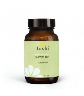 Fushi Wellbeing Slippery Elm Capsules, Organic 60 capsule