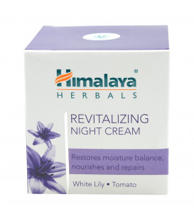 Rewitalizujący krem na noc 50ml Himalaya (Revitalizing Night Cream)