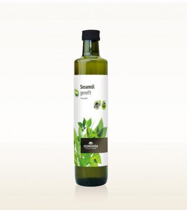 EKO Olej Sezamowy 500ml Cosmoveda - zimnotłoczony, organiczny