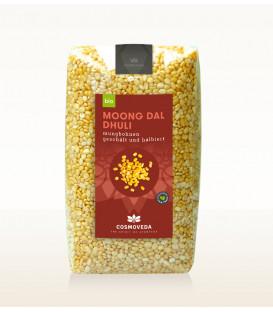 Organic Moong Dal - Fasola Mung, 500g Cosmoveda