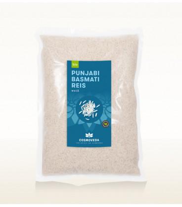 Ryż Basmati Biały Punjabi ORGANICZNY 1kg Cosmoveda