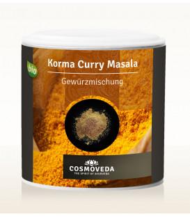 Mieszanka przypraw  Korma Curry Masala ORGANICZNA 80g Cosmoveda