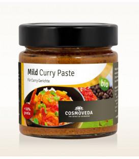 Łagodna Pasta Curry ORGANICZNA 160g Cosmoveda Paste