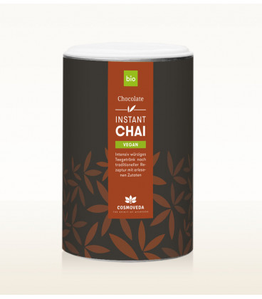 Gorąca Klasyczna Czekolada Chai Vegan BIO 200g Cosmoveda